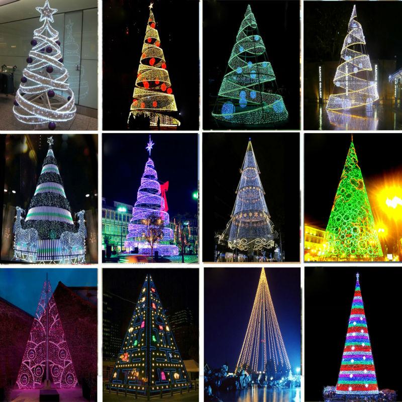 latest spiral christmas tree - Led Spiral Christmas Tree