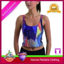 2015 custom fashion anti shrink high quality hot sale wholesale fitness tank