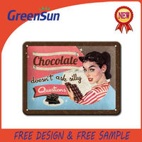 Promotional Gifts design tin sign metal signs