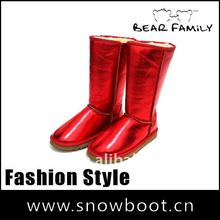 Waterproof snow boots Popular style woman christmas gifts 2012