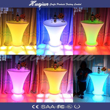 led table cheap folding tables,coffee table led,night club led table