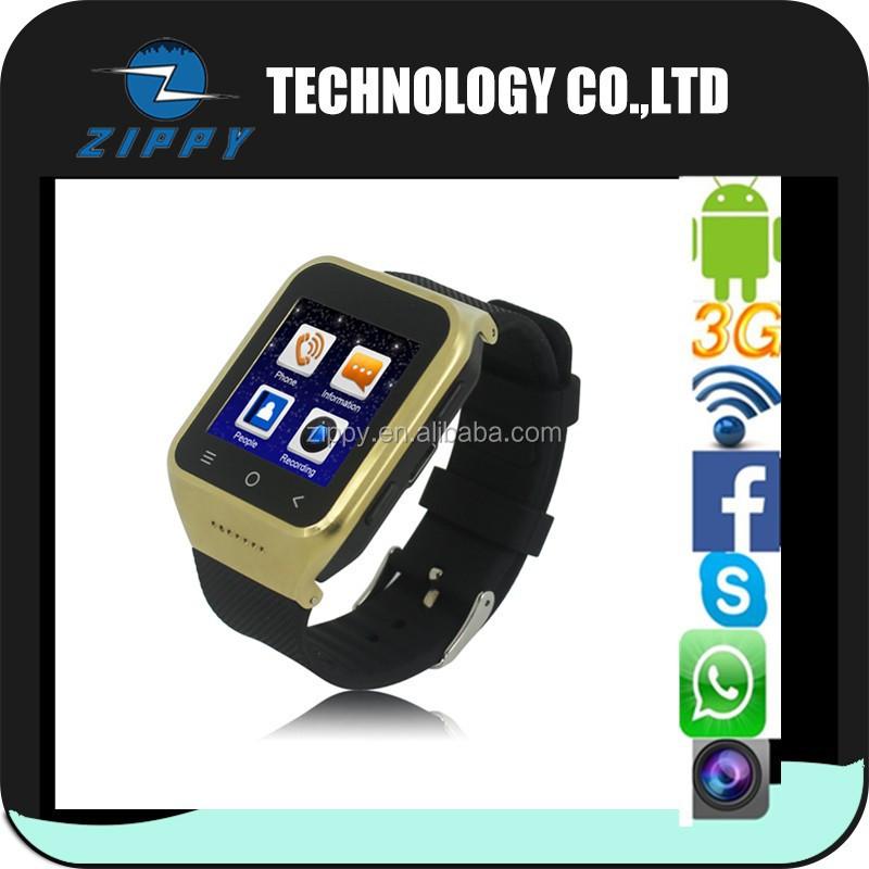Micro sim card android 4.4 inteligente reloj tel�fono con c�mara ...