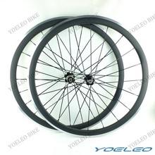 Mejor calidad SAT para bicicletas de ruedas 38 mm ruedas del carbón del remachador 700c ruedas carretera carbono