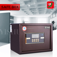 Outstanding mechanical password portable two key safe box