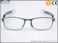 2015 latest fashion stylish full rim gray eye specs frames for eyeglass cheap