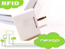 Rfid 3.5mm audio nfc card reader for Android