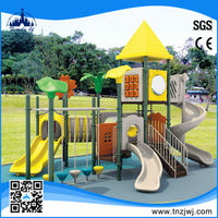 Commercial metal rubber-coating outdoor playground equipment