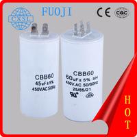 CBB60 washing machines capacitor 4uf 250v