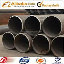 X52 low alloy hot rolled cold formed black welded steel pipe
