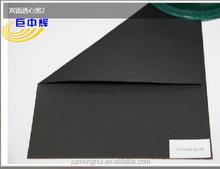 Good stiffness black paper for watch box