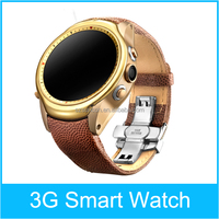 Best smart watch 3G wifi GPS waterproof Android 4.4 round 3g wifi smart watch 2015