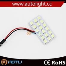18SMD 5630 LED Car Led Light Auto Accessories Interior Dome Bulb