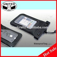 Economical and practical promotional waterproof cell phone sling bag