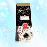 ziplock bag aluminium foil bag for coffee packaging with valve