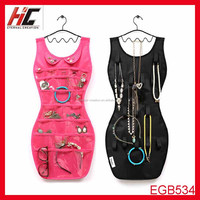 Hot Selling Multifunction Sexy S Shape Dress Hanging Jewelry Travel Organizer