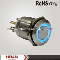 CE ROHS 6 pin push button switch