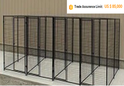 Metal tube large dog kennel/dog cage/dog house for sale