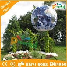 inflatable big advertising helium globe earth/world globe inflatable