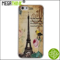 DIY Customized Clear Case Cover for iPhone 6 & 6 Plus soft TPU Rubber Skin - Print your own design image logo