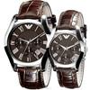 classical leather ar watch ar0671