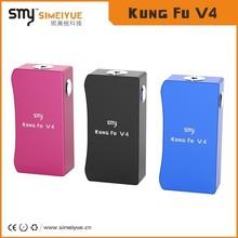 Huge vapor kungfu V4 26650 rechargeable batter ecig electronic cigarette kungfu mech mod kungfu v4