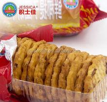 coconut & raisin biscuits round shape crispy sweet bsiscuits