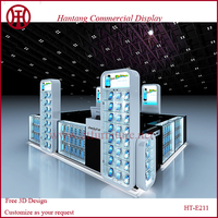 3D Max & CAD Cell Phone Repair Accessories Kiosk For Sale