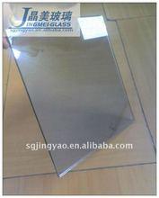 Jing mei cut size clear sheet glass