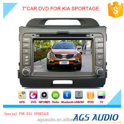 """7""""special touch screen for kia SPORTAGE Car radio with DVD Player GPS navigation bluetooth RDS SD"""