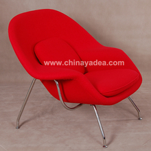 Modern classical furniture perfect fabric womb chair manufacture
