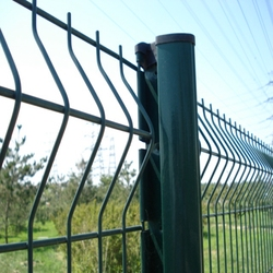 Pre Hot Dipped Galvanized And Powder Coated Cheap Sheet Metal Fence Panels
