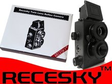 Recesky DIY Twin Lens Reflex 35mm Film Camera