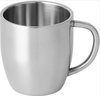 double wall Coffee Wine cup with 300ml capacity ,stainless steel wine cup made in china