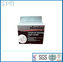 China manufacturer cheap OEM individually wrapped computer cleaning wipes