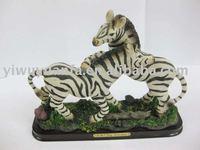 Polyresin Zebra Figurine,Polyresin Zebra Sculpture,Polyresin Zebra Crafts