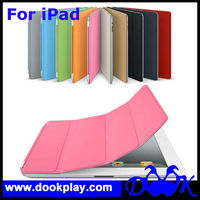 Magnetic Auto Wake Up and Sleep Leather case For iPad2 iPad 2 Smart Cover Case