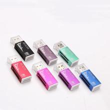 All in One Aluminium Memory Micro SD SDHC TF MS M2 Card Reader