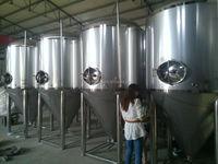 customer design 1000l mini brewery equipment best taste draught beer machine