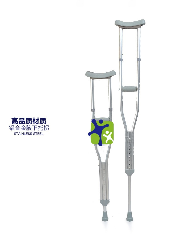 how to walk with one elbow crutch
