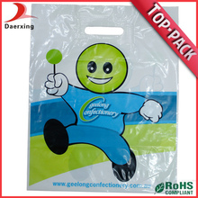 Guangzhou biodegradable barato personalizada compras del paño del bolso