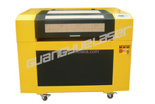 2015 top selling high specification of GY6090 600x900mm 60W80W100W CO2 paper laser cutting machine price