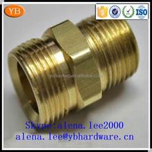 Factory stainless steel/aluminum/brass high precision eccentric pen cnc machining turning parts ISO9001