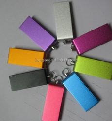 swivel Mini USB2.0/USB3.0 flash drive, hot sale and best quality full color mini swivel USB stick