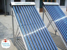 EN12975 Standard 24mm condenser heat pipe solar collector