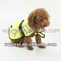 hot sale pet /dog clothes reflective dog vest with low price