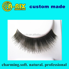 charming eye makeup eyelash hand tied strip false eyelashes, permanent false eyelashes