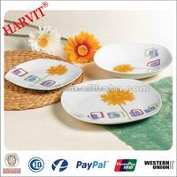 18pcs Modern Square Design Dinnerware Set Alibaba China Cheap Dinner Sets Porcelain Dinnerware With Flower Pattern