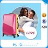 2015 Decent hard polycarbonate flight case aluminum trolley luggage