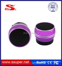 2015 Best audio Speaker with Retail Box TF card Handsfree function Gift speaker S14 Vibration Speaker
