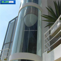 19mm curved glass sunrooms glass